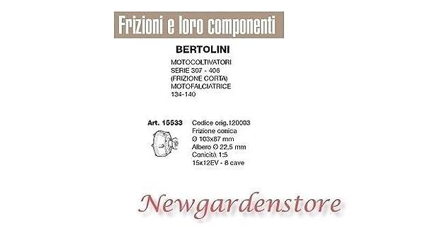 Embrague cónico motocultor Serie 307 406 motofalciatrice Bertolini 15533: Amazon.es: Bricolaje y herramientas