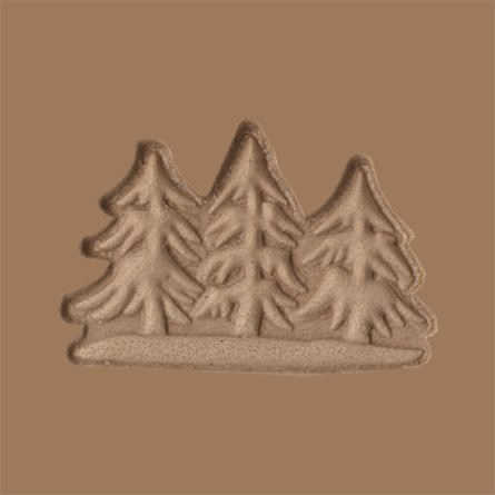 Springfield Leather Company 3 Trees 3D Leather Stamp
