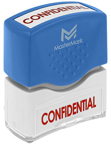 Confidential Ink Stamp - Confidential Stamp - MasterMark Premium Pre-Inked Office Stamp