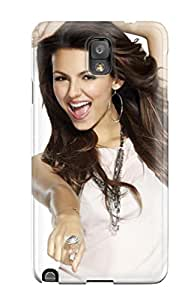 Hot New Victoria Justice Case Cover For Galaxy Note 3 With Perfect Design