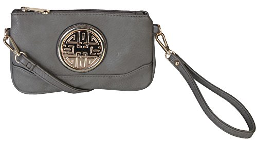 rimen-co-small-woman-cross-body-messenger-purse-handbag-with-wrist-strap-clutch-dh-2389-grey