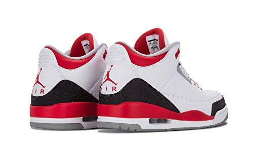 Air Jordan 3 Retro - 10.5 Rojo Fuego - 136064 120