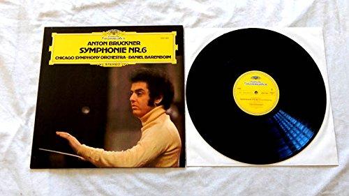 Daniel Barenboim Anton Bruckner Symphonie NR. 6 LP - Deutsche Grammophon 1978 - Near Mint - German Import - Chicago Symphony - Chicago Mall Near