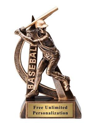 Ultra Action Elegant Baseball Award 6.5
