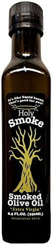 Holy Smoke Smoked Extra Virgin Olive Oil 8.5fl.oz (250ml)