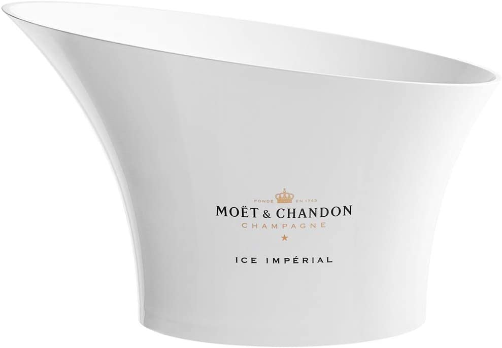 GOLD BRAND NEW MOET CHANDON ICE IMPERIAL CHAMPAGNE OUTDOOR CUSHION COVER BLACK