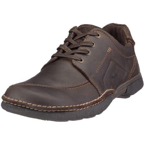 camel active Mars 133.15.03 - Zapatos de cuero nobuck para hombre Marrón
