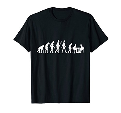 Chess Evolution - Chess Board T-Shirt I Chess Gift (Best Chess App Android 2019)