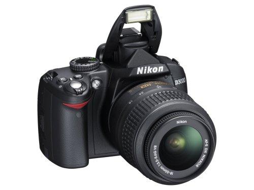 Nikon D3000 - Cámara Réflex Digital 10.2 MP (Objetivo 18-55 mm VR ...