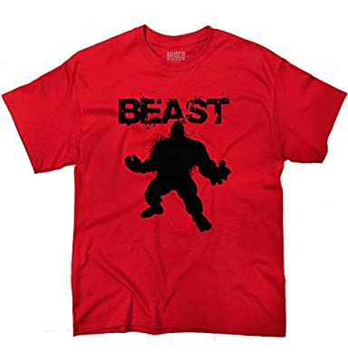 Brisco Brands Beast - Mode Workout T-Shirt Gym Fitness Muscle Bodybuilding T-Shirt Tee