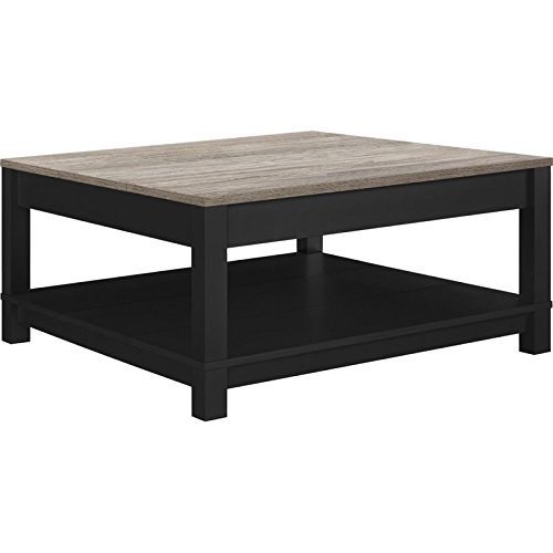 Ameriwood Home Carver Coffee Table, Black by Altra Furniture