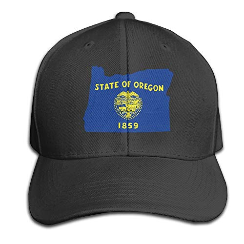 Men Women Flag Map of Oregon Outdoor Duck Tongue Hats Adjustable Cotton  Trucker Snapback Hat at Amazon Men s Clothing store  5be401053d42