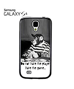 Monkey Playing Card Game Mobile Cell Phone Case Samsung Galaxy S4 Black
