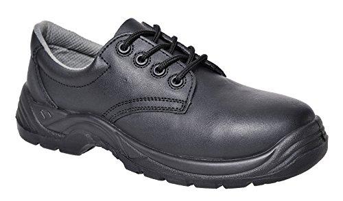 Portwest Fc41Compositelite zapatos 36/3, color negro, talla 12 UK negro