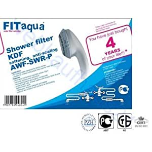 FITaqua Limescale Filter for Showers and Baths by FitAqua
