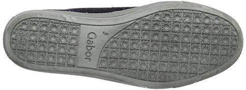 Scarpe Stringate Micro Nightblue Blu Donna Gabor Comfort Derby Basic 7SxEx1