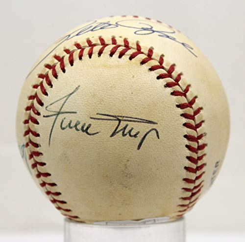 3000 HIT CLUB SIGNED BASEBALL MAYS AARON MUSIAL ROSE JSA STICKER ONLY Z35419