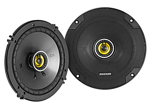 Kicker 46CSC654 Car Audio 6 1/2 Coaxial Full Range Stereo Speakers Pair CSC65