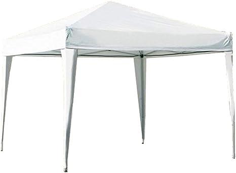 Hosa - Carpa Plegable Acero 3 x 3 m Blanca - Cenador Gazebo para Patio, Playa y Jardín Ideal para Camping, Feria, Eventos o Mercadillo.: Amazon.es: Deportes y aire libre