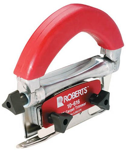 Roberts Carpet Tools GT Conventional Carpet Trimmer 10-616 (Best Knife For Carpet Fitting)