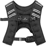 ProsourceFit Exercise Weighted Training Vest for Weight Lifting, Running, and Fitness Body Weight Workouts; Me