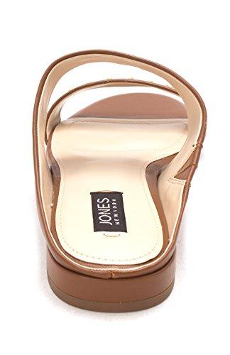 Womens Tan Toe York Open Sandals Leather New Jones Sabrina Slide Casual Eqxw7pFC1