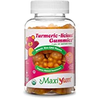 60 Ct Maxi Health Turmeric Curcumin Gummy Supplement