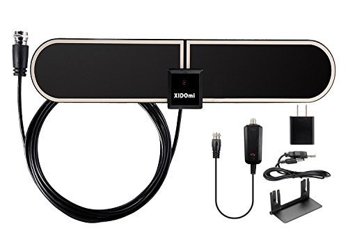 Best Buy! Amplified TV Antenna Indoor HDTV Antennas - 50 Mile Range with Detachable Amplifier Signal...
