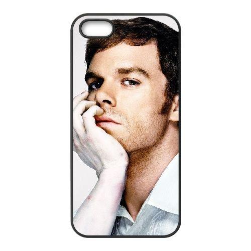 Dexter Blood 005 coque iPhone 4 4S cellulaire cas coque de téléphone cas téléphone cellulaire noir couvercle EEEXLKNBC24565