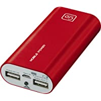 Design Go Twin Power Bank Red