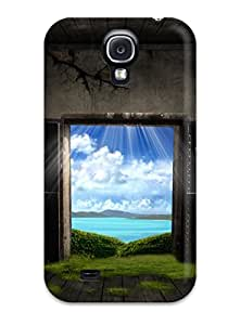 New Style Design High Quality Fantasy Door Cover Case With Excellent Style For Galaxy S4