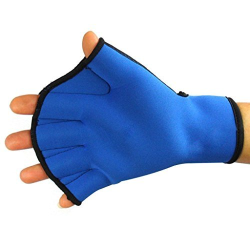 Umermaid Training Swimming Gloves Fingerless Webbed Water Resistance Neoprene 1 pair