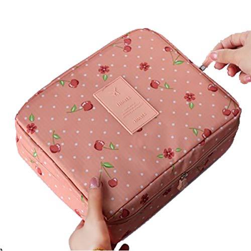 Bolso cosmético portátil de alta calidad para mujeres Maquillaje Estuche de belleza impermeable Organizador Kits de aseo…