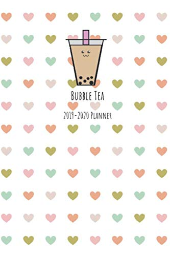 Bubble Tea 2019-2020 Planner: 6x9 2019-2020 Monthly and Weekly Organizer Perfect for the Boba Lover in your life! by Morgan Mai