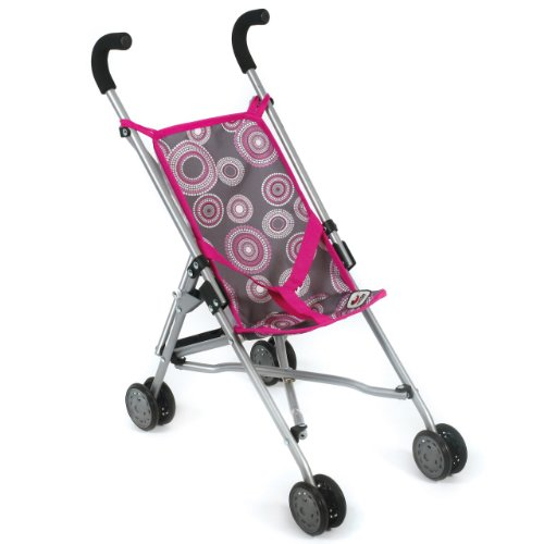 Bayer Chic 2000 601 87 - Mini-Buggy Roma, Hot Pearls, pink