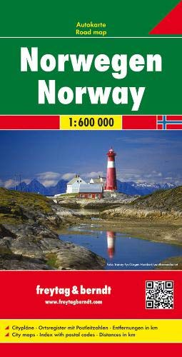 Norway 1:600K Road Map FB (English, French and German Edition)...