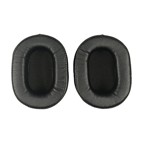 Replacement Ear Pads Earpads Cushion for Audio-Technica ATH-MSR7 ATH-MSR7BK ATH-M50x ATH-M40X ATH-M30 ATH-M50 ATH-M50s Headphone (Black) (Version - Technica Audio Pad
