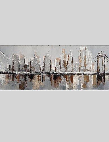 XM modernes abstraktes handgemaltes Ölgemälde auf Leinwand mit Rahmen