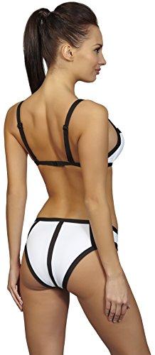 SHE Conjuntos de Bikinis para Mujer Kelis Blanco (100)