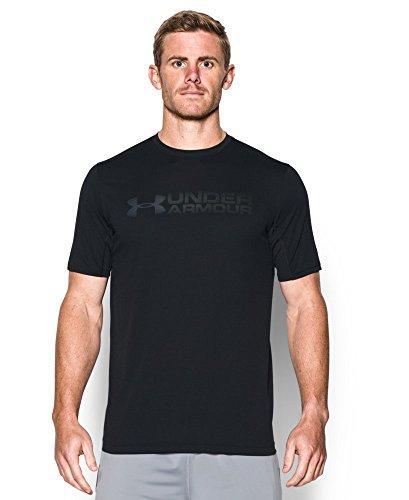 Under Armour Men's Raid Microthread Sleeveless T-Shirt, Black (002), X-Large