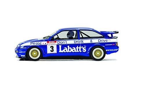 scalextric-ford-sierra-rs500-labatts-tim-harvey-3-132-slot-car-c3867-vehicle-replicas