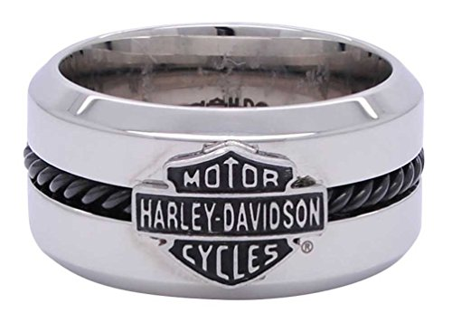 Harley Davidson Black Stainless Shield HSR0032
