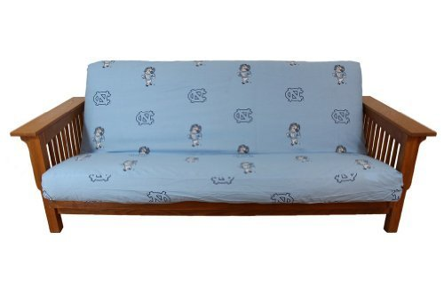 College Covers International North Carolina Tar Heels Futon Cover - Full Size Fits 6 and 8 Inch Mats by College Covers