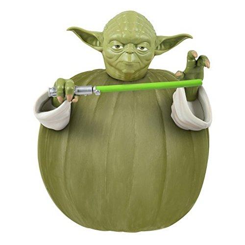 Star Wars Yoda Push-In Pumpkin Decorating Kit]()
