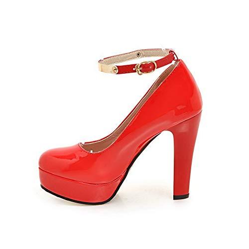 Plateforme Rouge Femme APL10618 Red 5 BalaMasa 36 Rfx5BEtEn