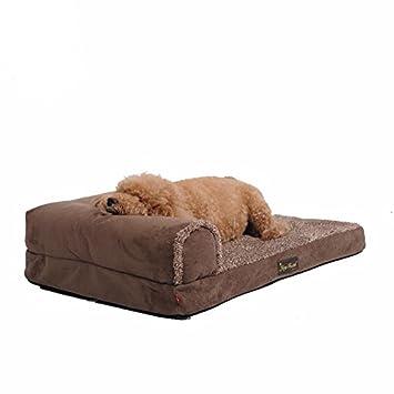 WSS Perro sofá cama cama para mascotas perros grandes Golden Retriever Kennel perro mat artículos lavables . a . m: Amazon.es: Deportes y aire libre