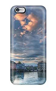 TYH - Diushoujuan Anti-scratch Case Cover Protective Zurich River Pictures Case For Iphone 5C phone case