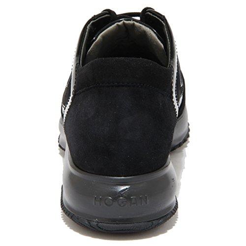 8361N Woman Nero Nera Shoe Interactive Sneaker Donna Hogan Scamosciata PwpqZ7n