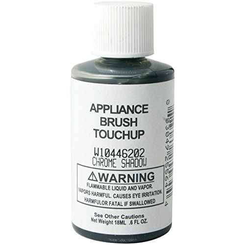 GENERIC W10446202 0.6 OZ W144622 Appliance Brush-on Touch-up Paint (Chrome Shadow),