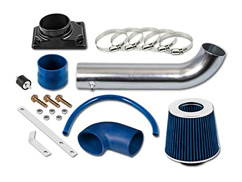 ST Racing Blue Short Ram Air Intake Kit + Filter 01-06 for Dodge Stratus 2-Door Coupe with 2.4L SOHC 4-cylinders Engine ()